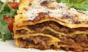 Meals Lasagna